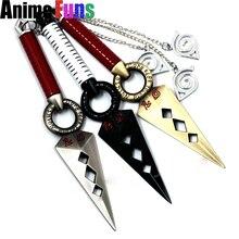 Anime Naruto Shuriken Minato Kunai Japanese Ninja Cosplay Zinc Alloy Weapon
