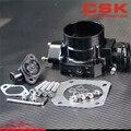 Обновление 70 мм дроссельной заслонки + TPS для Honda Civic Integre D/B/F/H-Series Black