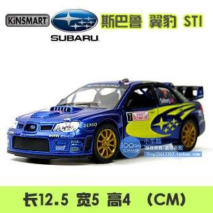 Soft world 2007 SUBARU subaru impreza wrc alloy car model sports car toy