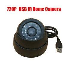 720 p ir 15 m noche uso usb eyeball dome camera w/motion detection registro para el Hogar CCTV de Seguridad de Vídeo DVR y Cámara Ranura Para Tarjeta de TF