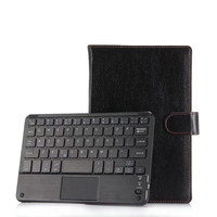 Universal 7 8 inch Detachable Bluetooth Keyboard & Touchpad Leather Stand Cover Case For Huawei MediaPad T2 7.0 T3 M3 Lite 8.0