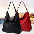 Pure Color PU Bags Casual Women Shoulder Bag Good Quality Leather Women Bags Female Tote Women Shoulder Bag