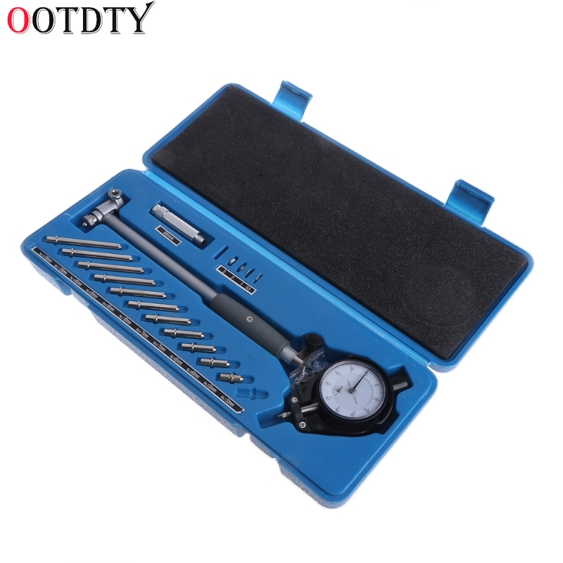OOTDTY циферблат диаметр калибра 50-160 мм отверстие индикатор измерения цилиндров двигателя Gage Tool Kit