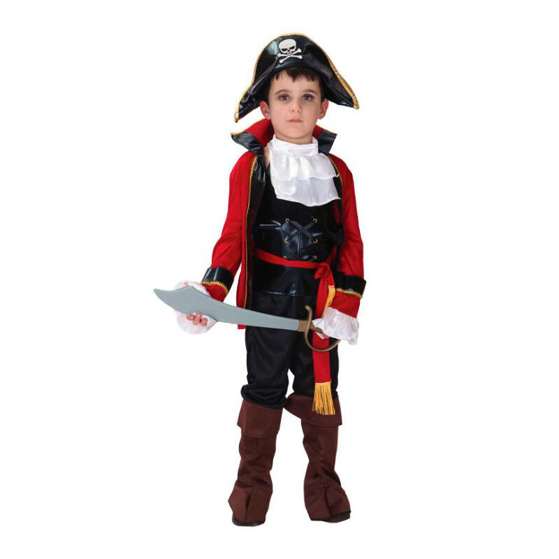 childrens halloween costumes boys pirate costume kids girls cosplay jack sparrow christmas carnival for kids 4 - Halloween Jack Costume