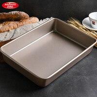 Bakerdream Bakeware Carbon Steel Rectangular Cake Pan Nonstick Baking Pan Pastry Biscuit Baking Tool
