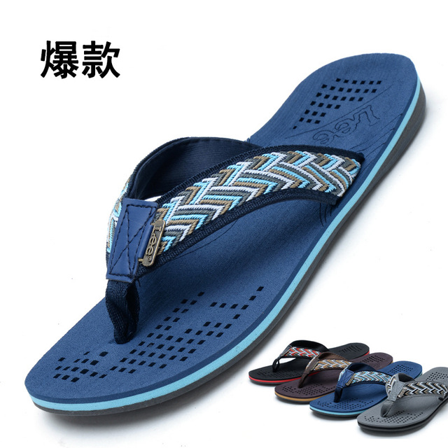 New Noble Brand Sandals Men Shoes Men Beach Flip Flops Hollow Out Style  Sandals Casual Converse All Stars Sandalias Summer Style 0ef26ee4a