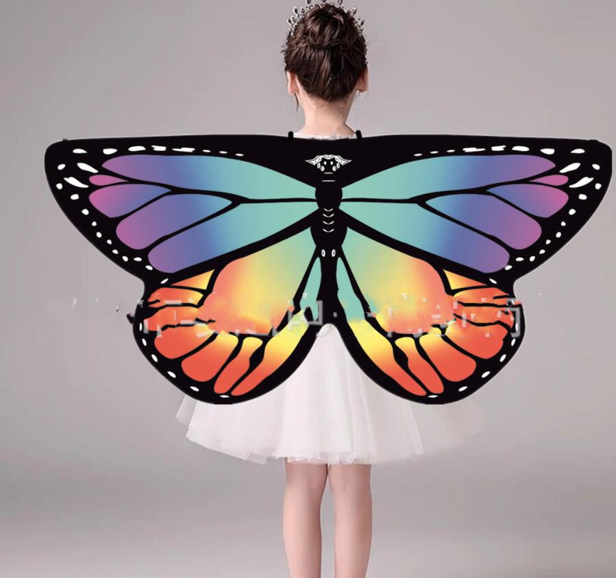 Cheap  Belly Dance Wings Monarch Butterfly Wings Angel Isis Wings For Kids Fairy Princess Dress Up New Design