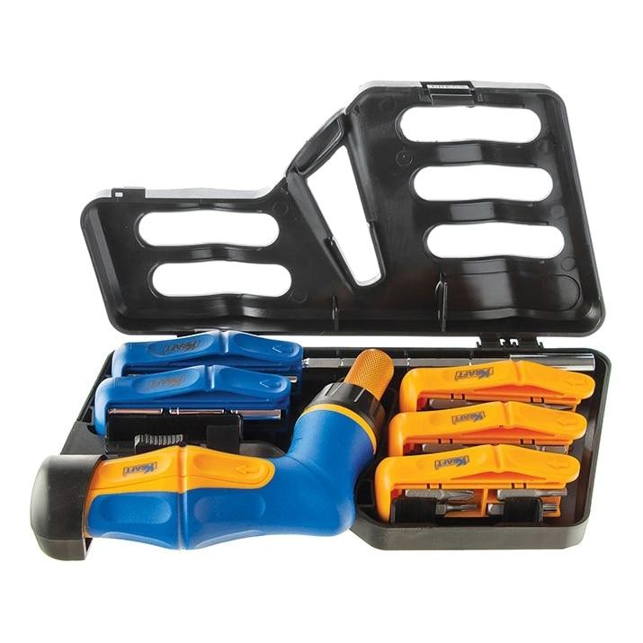 цена на Screwdriver Set KRAFT CT 700449 (41 subject, reversing gear, magnetic tip, case)