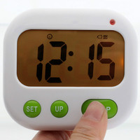 LED Digital Timer Electronic Candy Watch Desktop Display Student Clock Vibration Alarm Clock Luminov Office Electronic