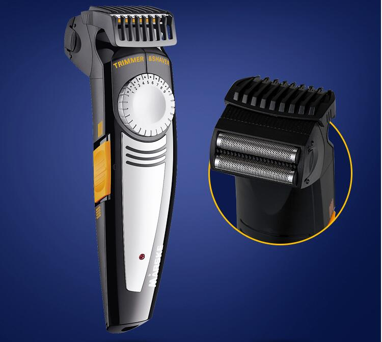 2 in 1 Multifunction Man Electric Skull Shaver Trimmer Beard Styling Shave Razor Mustache Modelling hair clipper cutting machine philips brl130 satinshave advanced wet and dry electric shaver