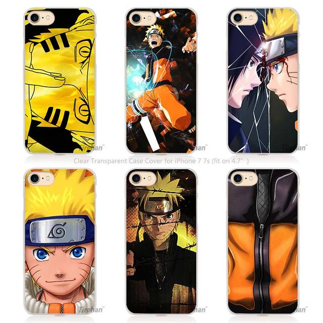Naruto Hard Transparent Phone Case Cover for Apple iPhone 4 4s 5 5s SE 5C 6 6s 7 Plus