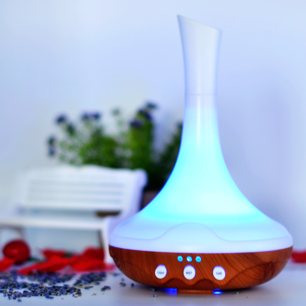 CHOLIDO Aroma Air humidifier aromatherapy essential oil diffuser Colorful LED Light Changing Ultrasonic electric Mist Maker
