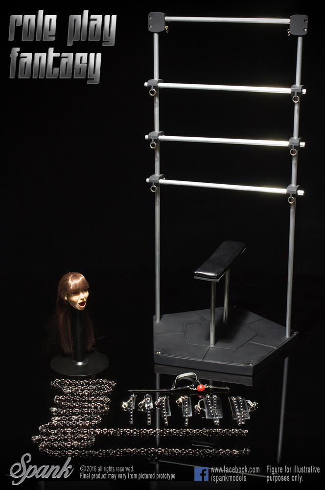 1:6 Scale Figure doll accessories Role play fantasy Torture rack with head 12 Action figure doll,not include doll and other on torture