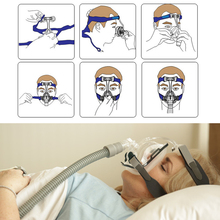 Medical CPAP Device Sleep Mask Anti Snoring Full Face Mask With Headgear For Breath Apnea OSAHS OSAS FM1 Sleeping aid Size S/M/L