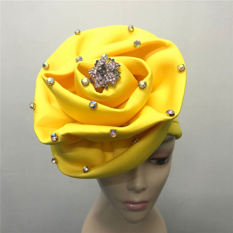 7b685cbc1d5 Fashion Pearls Beaded Flower Turban Women Hair Cap Muslim Turbante Party  Hijab Headwear Hair Accessories with Brooch LP30-in Fabric from Home    Garden on ...