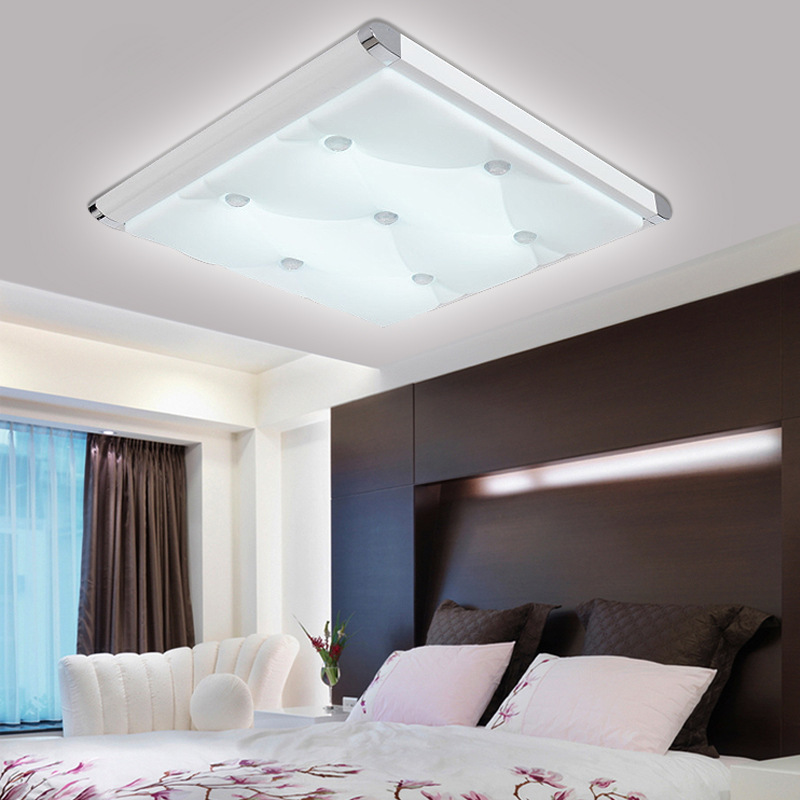 2015 Abajur Ceiling Lights Modern Living Room Ceiling Light Bedroom Den Flat Lamps Aluminum