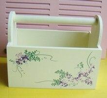 Деревянные ящики для хранения Практическая корзина хранения перчаточный ящик коробка дистанционного управления бен