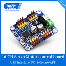 Witmotion 16 Kanaals Bluetooth Pwm Servo Driver Controller Board Module Pcb Stuurinrichting Voor SG90 MG995 Arduinos