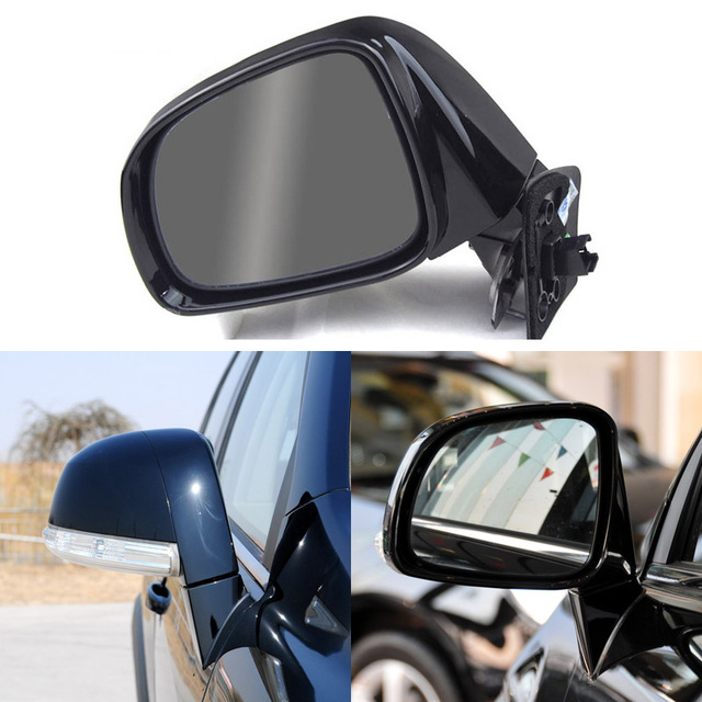 Texture Black Automatic Folding Power Heated Turn Signal Original Replacement Side View Mirror For Chevrolet Captiva