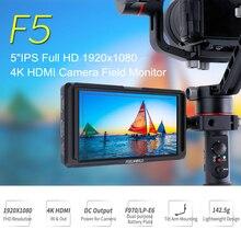 FEELWORLD F5 5 Polegada IPS DSLR 4 k HDMI Monitor de Campo Câmera FHD 1920×1080 DC Saída Do Monitor LCD para Sony Nikon Etc com Braço de Inclinação
