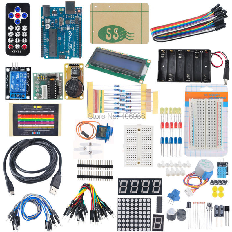 2015 Advanced Starter Diy font b Kit b font for font b Arduino b font Sensor