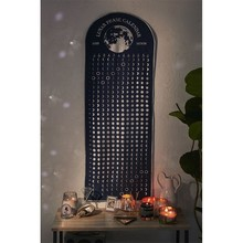 Лунный фазовый Календарь Настенный Гобелен Мандала Луна хиппи бохо настенный гобелен настенный тканевый дом гостиная тапиз