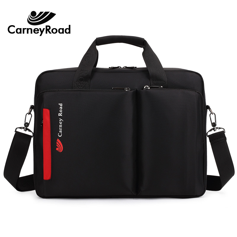 Image 2 - Carneyroad New Fashion 12 13 14 15 Inch Laptop handBags For Men Women High Quality Waterproof Business Messenger Briefcases-in Briefcases from Luggage & Bags