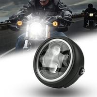 5.75 inch motorcycle LED headlight moto bulb 6000K 30W super bright front headlight motor headlamp for Yamaha
