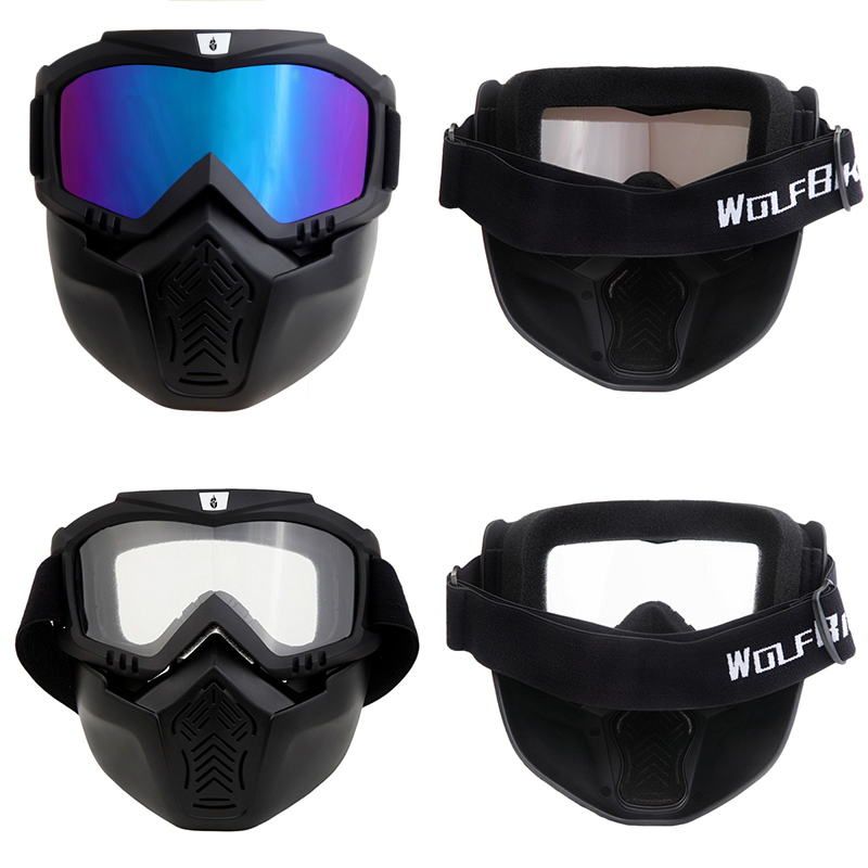 bdaea15945 Compre Ski Skate Motocicleta Gafas Motocross Gafas Casco Gafas A ...
