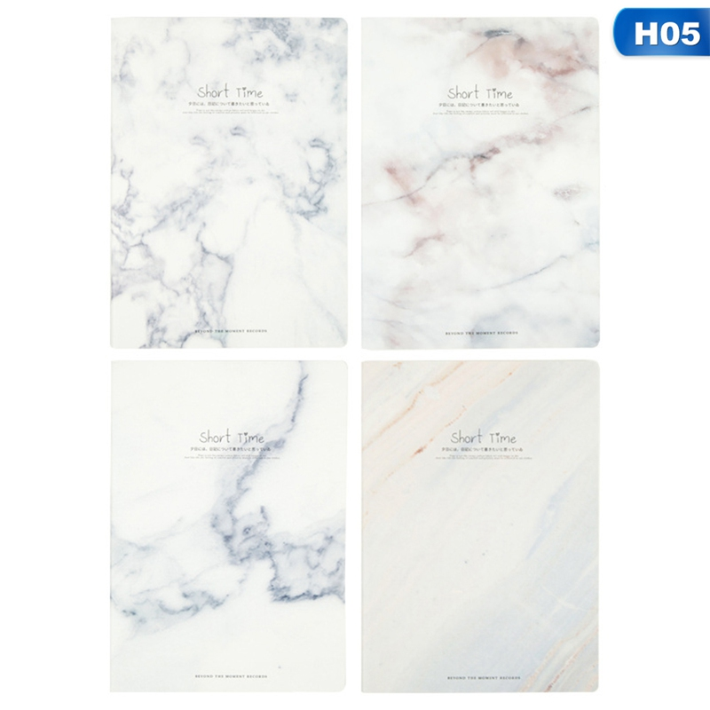 Confident 1pcs Cut Marble Animal Designs Soft Cover A4 A5 B5 Notebook Lines Composition Diary Stiching Binding Notebook Style Random Notebooks & Writing Pads