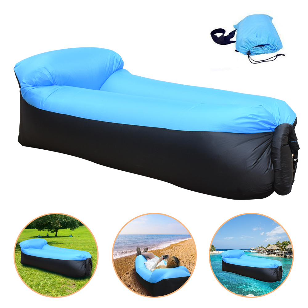 Inflatable Sofa Air Bed Lounger: High Quality Lazy Beach Bed Air Sofa Lounge Camping Of
