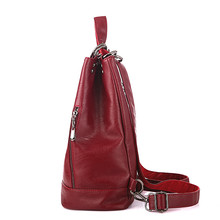 Women PU Leather Backpack (5 colors)