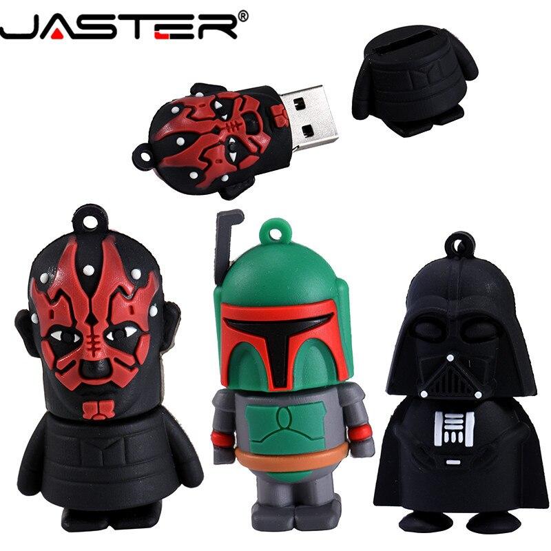 Image 4 - JASTER Usb 2.0 Cartoon Pendrive Star Wars Yoda/Darth Vader Usb Flash Drive 4GB 64GB 16GB 32GB Memoria Usb Gifts Clef Chiavetta-in USB Flash Drives from Computer & Office