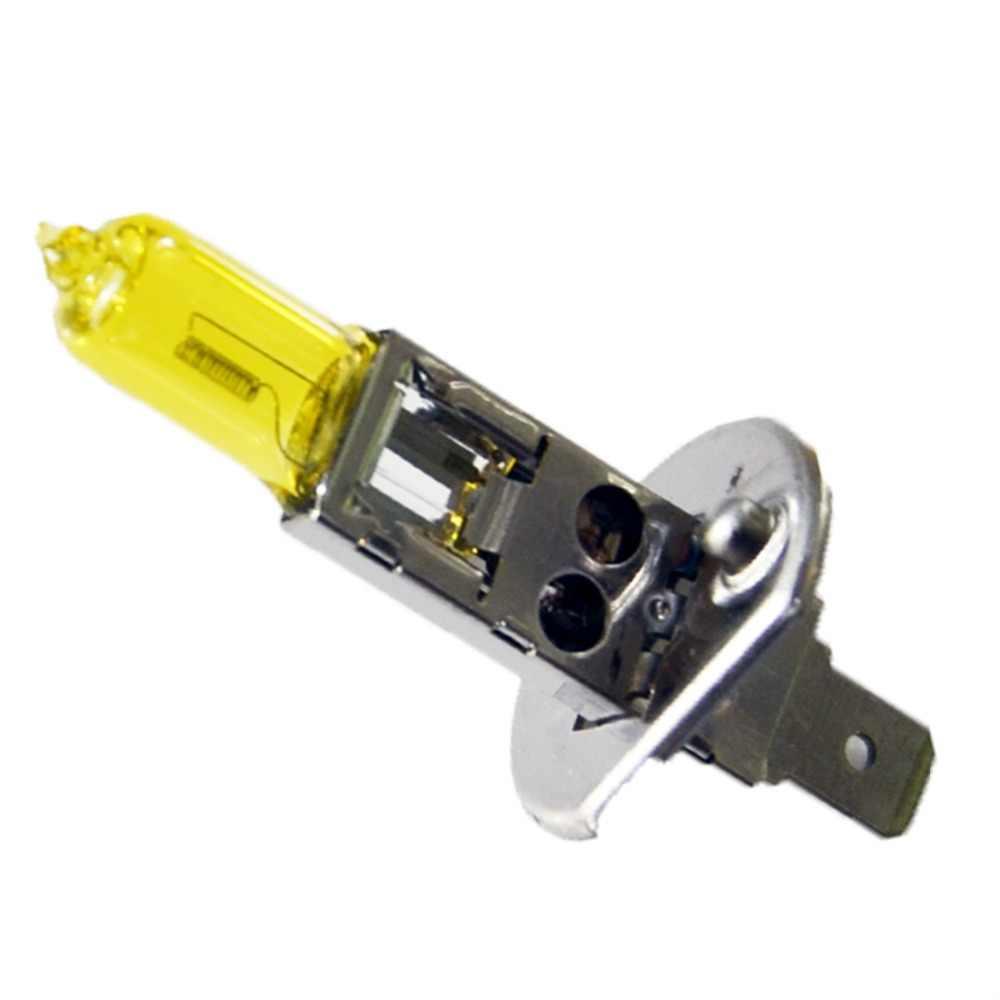 Lampadina alogena H1 12V 55W 1 Pezzo di Colore Giallo 3000K 1700Lm Vetro di Quarzo Auto Faro Auto Luce ALLO XENO lampada Della nebbia