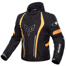 DUHAN 600D Motorcycle Jacket Motocross Riding Clothing Removable warm lining Chaqueta Moto Jaqueta with Neck protector