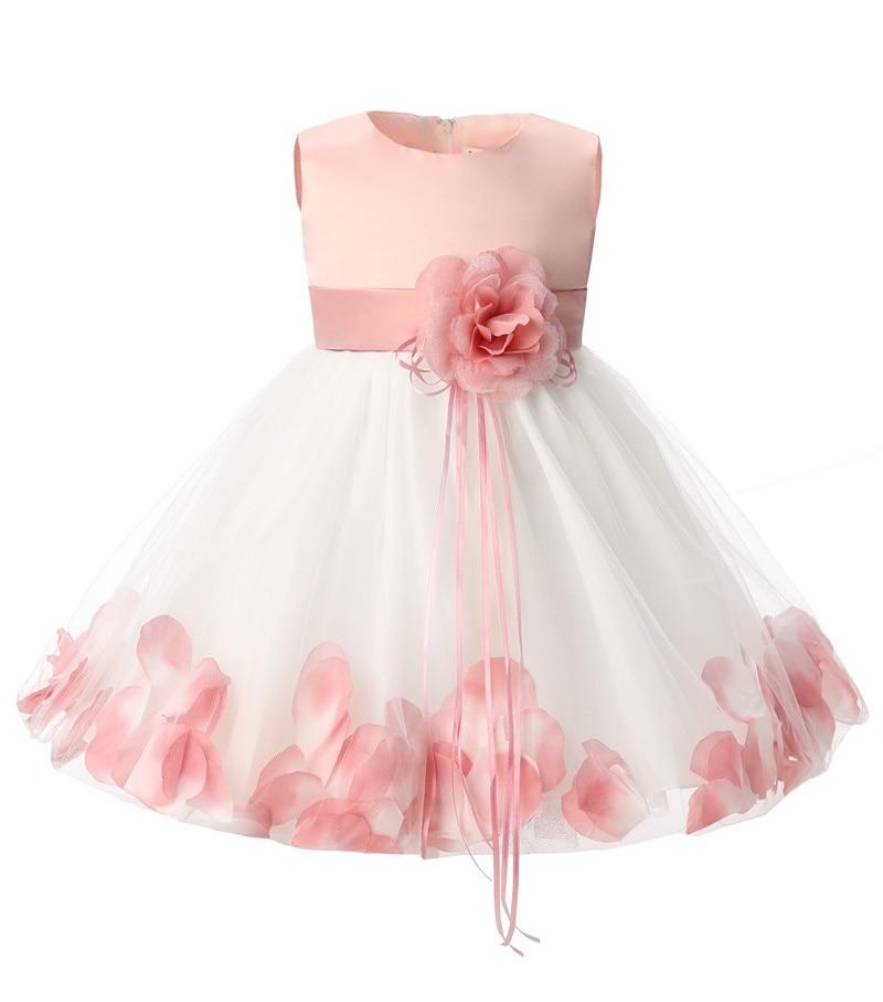 7d20719045 Newborn Baby Girl 1 Year Birthday Dress Summer Kids Clothes Tulle Toddler Girl  Christening Dress Infant Party Dresses For Girls