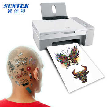 (20sets/lot) A4 Inkjet Laser Temporary Tattoo Paper DIY Waterproof Dermatologically Tested Skin Safe Temporary Tattoo Film - SALE ITEM - Category 🛒 Office & School Supplies