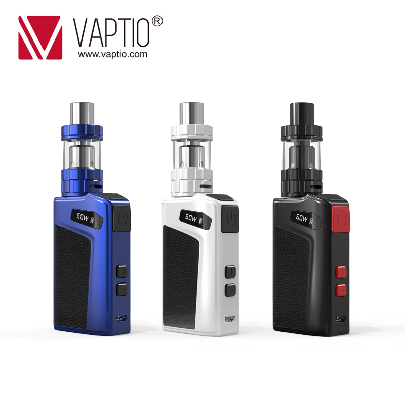 Vape Kit Electronic Cigarette Move 60 Kit With 2100mAh Built In Battery Mod Output Power 7-60W & 2.0ml Tank 0.69 Inch Display