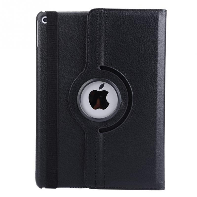 360 Degree Rotating PU Leather Covered Include Back Case Full Body Case For Ipad Air 1 Air 2