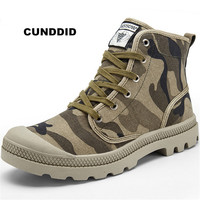 High quality Women boots camouflage casual shoes womee Unisex sneakers women Martin boots canvas shoes tenis masculino adulto