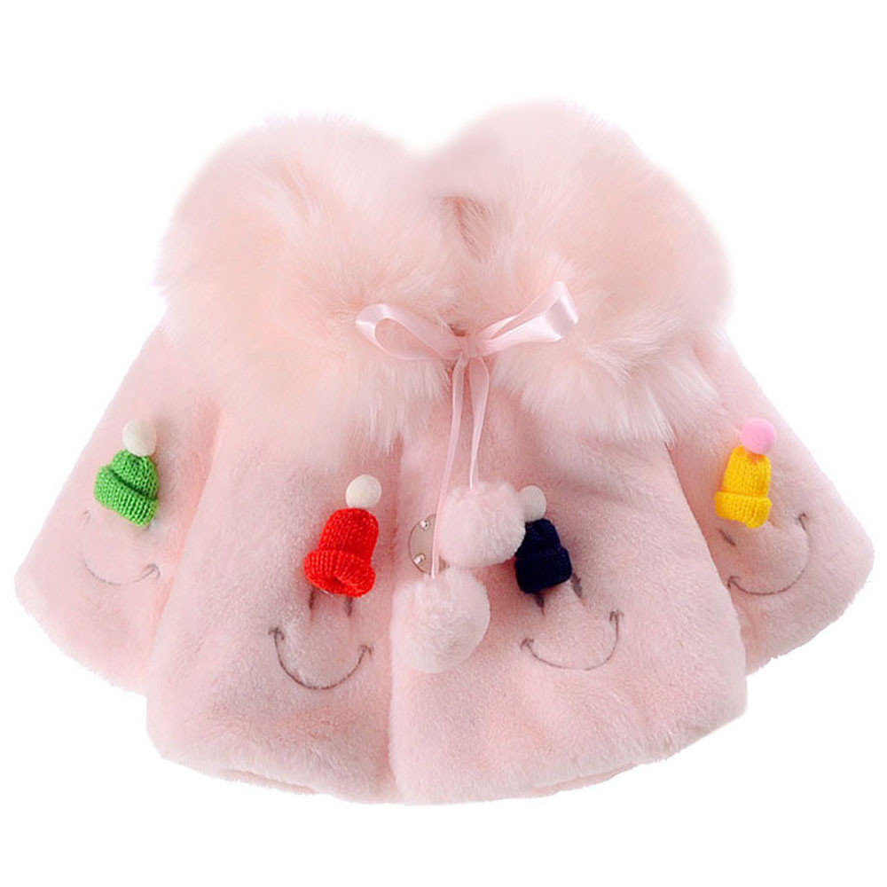 MUQGEW Coat Costume Baby-Girls New-Fashion Warm Plus Cute Bow-Tie Collar Kids Lovely