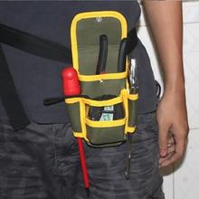 Фотография 1PC Multifunctional Electrician Tool Bag Waterproof Oxford cloth Tools Kit Pockets  Waist Belt Repair Pouch Pocket Tool