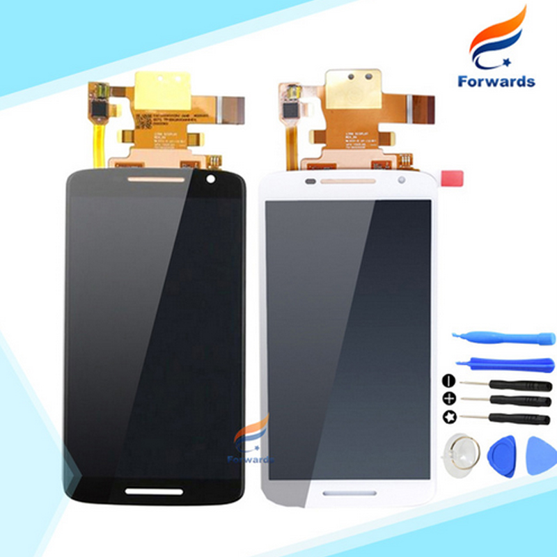 10pcs/lot free DHL/EMS for Motorola Moto X Play X3 XT1561 XT1562 XT1563 LCD Screen Display with Touch Digitizer Tools Assembly 2016 sale rushed 10pcs free dhl ems for motorola moto xt1254 touch digitizer lcd display 100