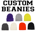 Custom Beanies Knit High Quality Warm Winter Team Personalized Skullies Embroidery Long Cuff Ski Caps 50PCS/LOT Free Shipping