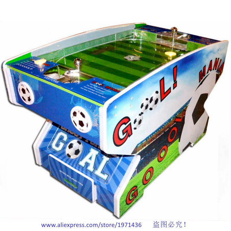 China Factory Cheap Price Goal Mania Amusement Soccer Football Lottery Tickets Table Redemption Arcade Game Machine