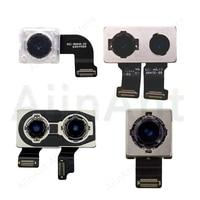 Orignal Real Back Camera Flex For iPhone 7 8 Plus Back Main Camera Flex Cable For iPhone X Xs Max XR RepairParts