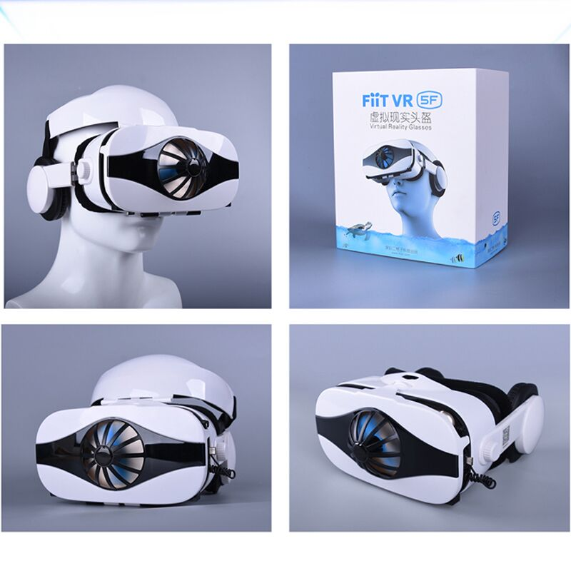 Viar Helmet 3D VR Glasses Virtual Reality Headset For iPhone Android Smartphone Goggle Casque Smart Phone 3 D Lenses Binoculars 5