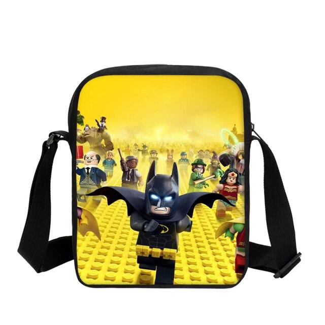VEEVANV Kids Cartoon Pattern Mini Shoulder Bag Lego Ninjago Prints Messager  Bag For Boys Girls Small 21d4b70bd8434