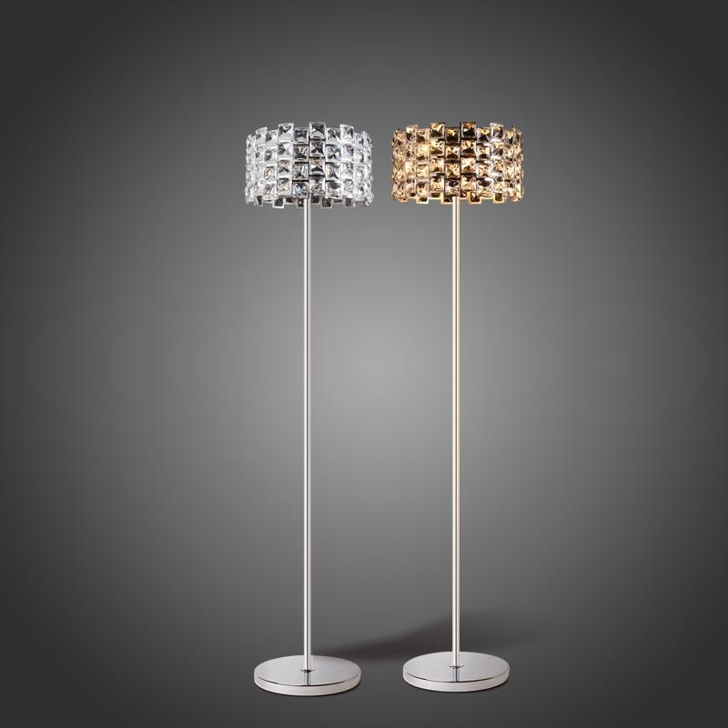 En l mparas de energ a l mparas cristal de lujo moderno for Lampara de piso minimalista
