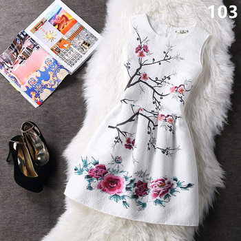 Summer style 2017 fashion a line women maxi evening party casual vintage dresses printing sleeveless vestidos.jpg 350x350